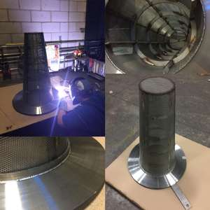 Project Spotlight: Reinforced Cone Strainer